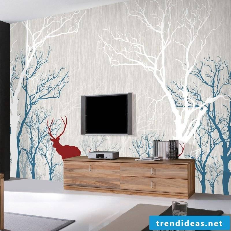 Online you can design your wallpaper according to your winches and ideas