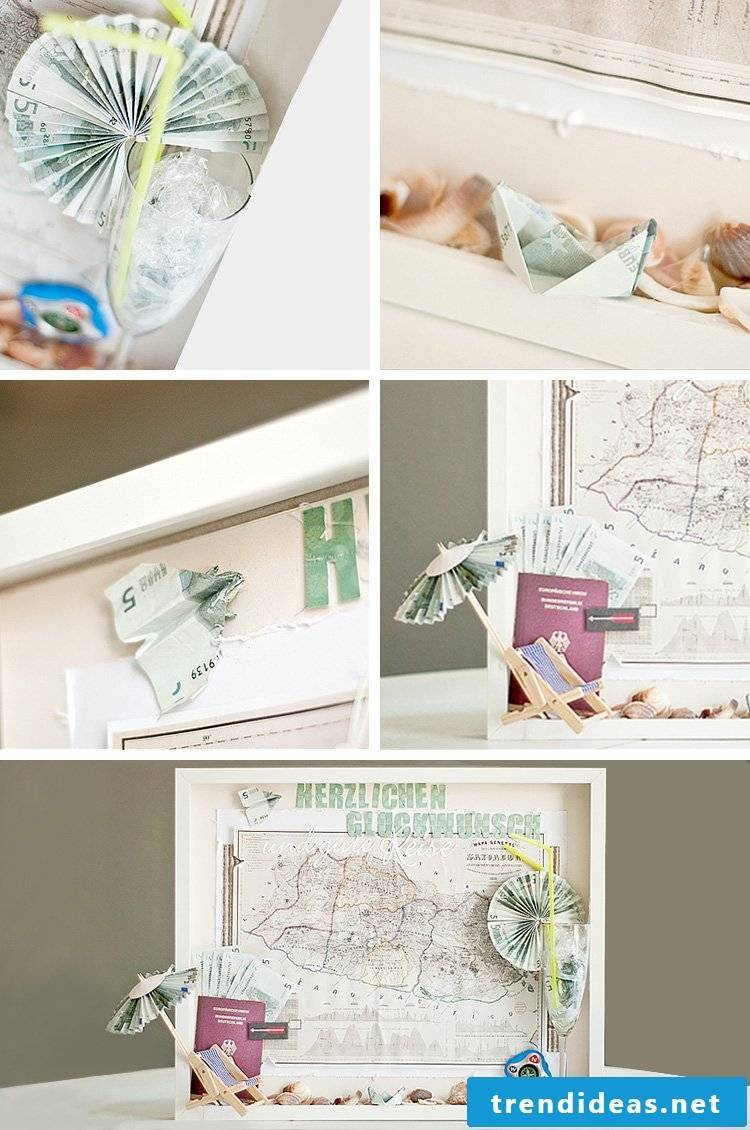 Tinker Gift Wrap - Wedding Gift Money Picture Frame