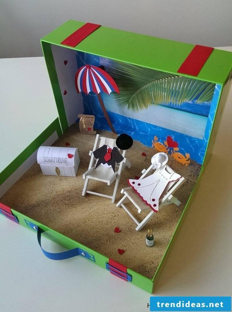 Wedding gifts homemade - treasure chest