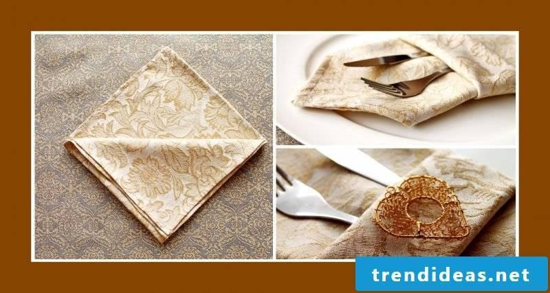 wedding napkins tote bag