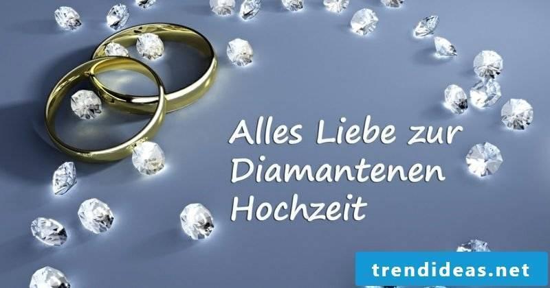 Reminder sayings diamond wedding