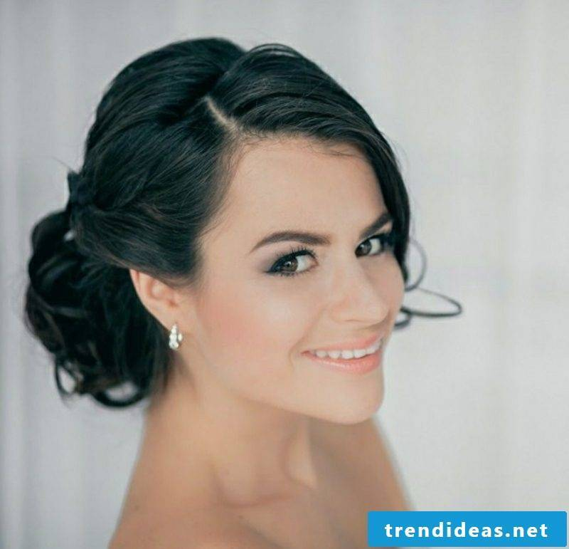 Hairstyles 2016 shoulder length wedding bun