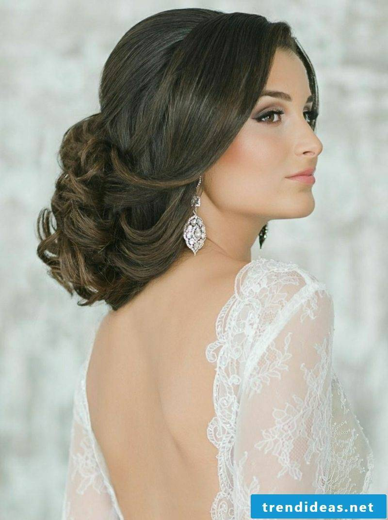 Updos long hair romantic ideas bride