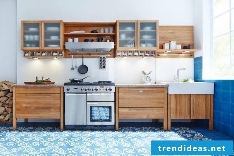 modular country kitchen