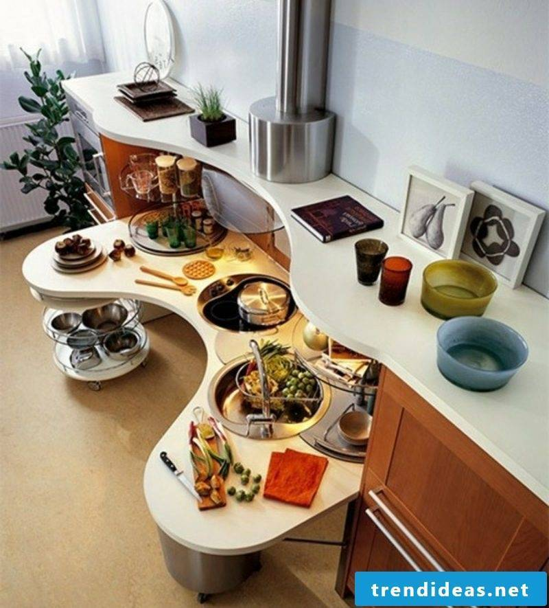 Modular kitchen modern and practical