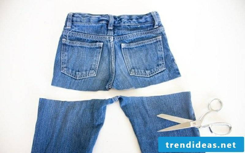what can you do with old jeans DIY Rock