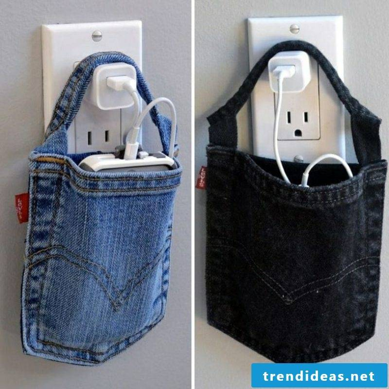 what can you do from old jeans make great DIY ideas