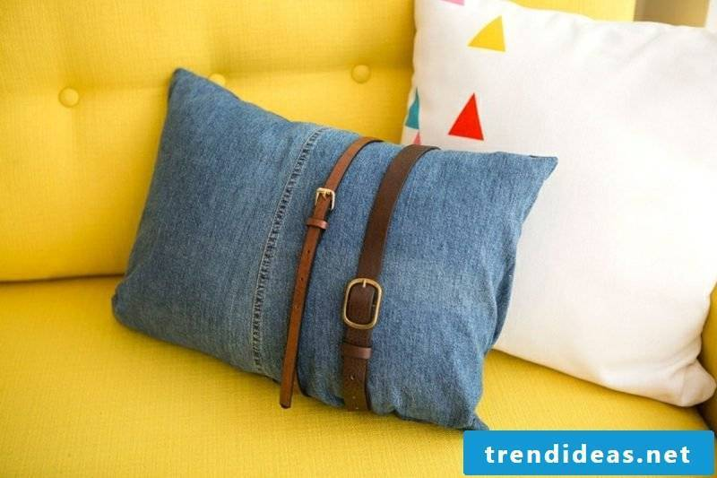 what can you do with old jeans inspirational DIY ideas