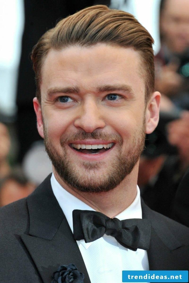 Hairstyles 2017 Men's Sleek Look Justin Timberlake