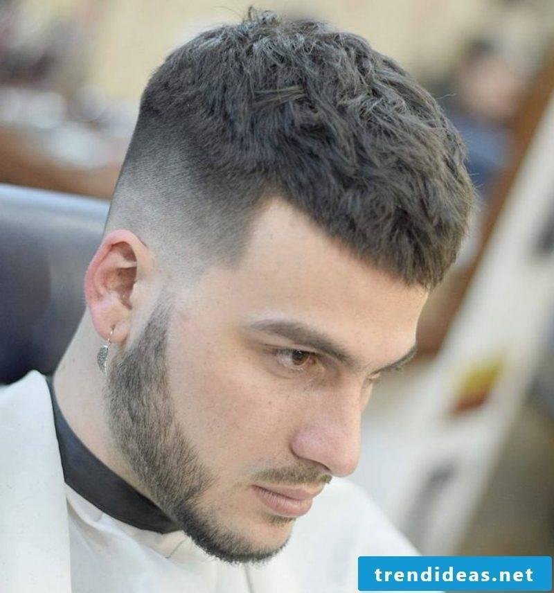Hairstyles Men Bold Cut