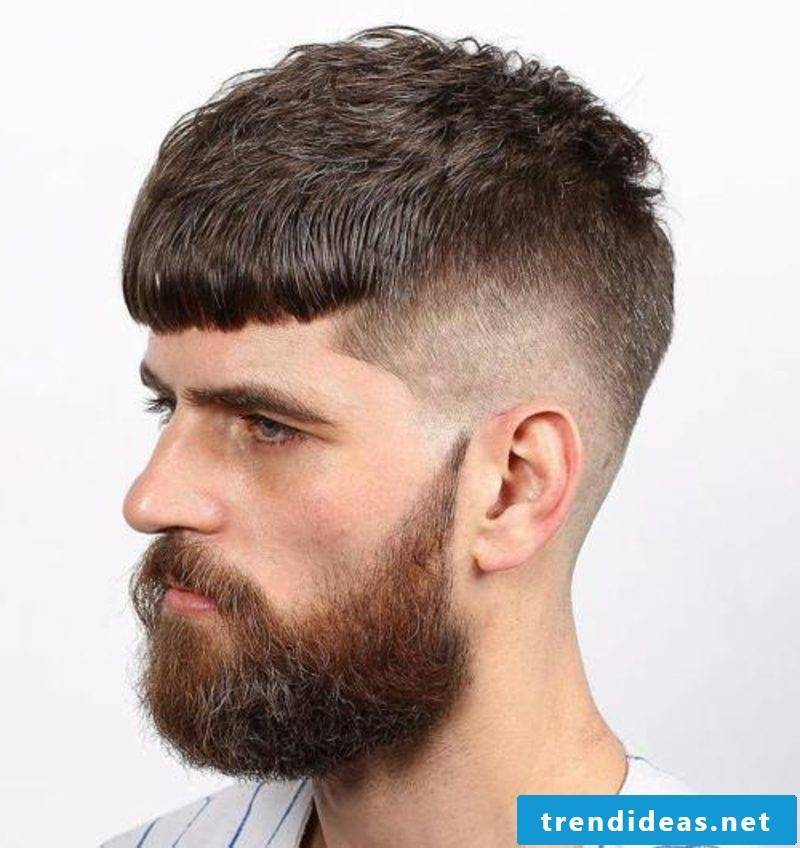 Hair Trends 2017 Men Bold Cut with Beard