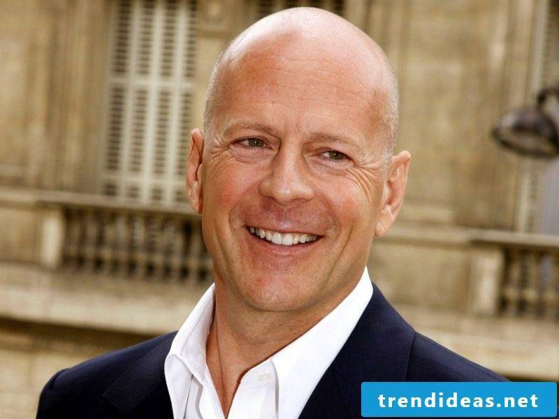 Men's hairstyles 2017 Bruce Willis