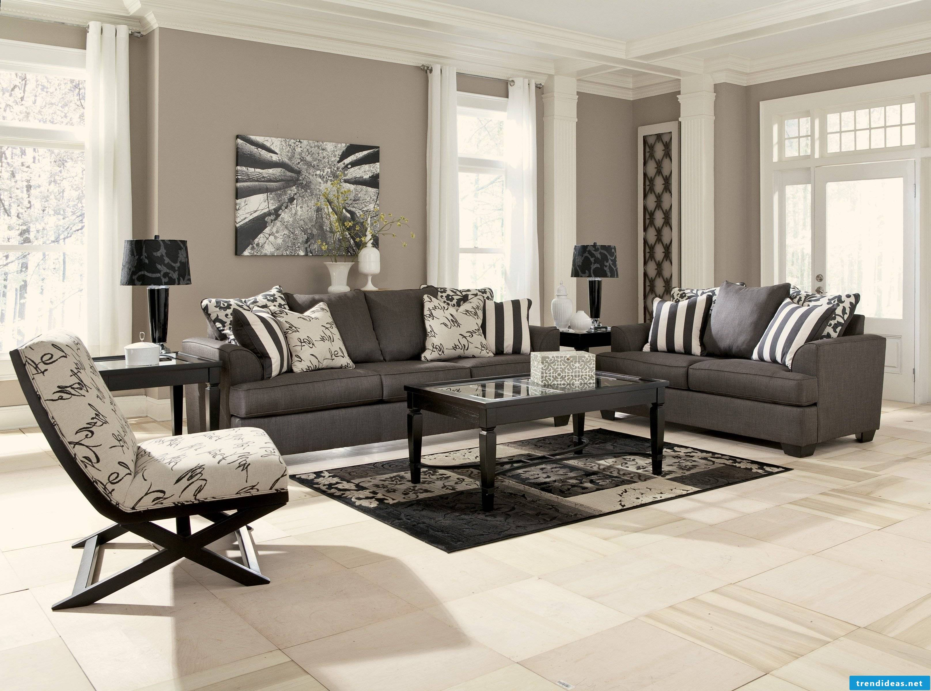 The correct home furnishings according to your answers to the questionnaire