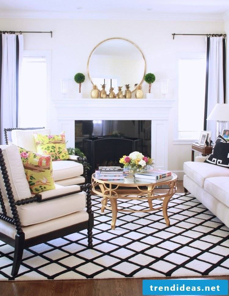 The home furnishings modern and discreet