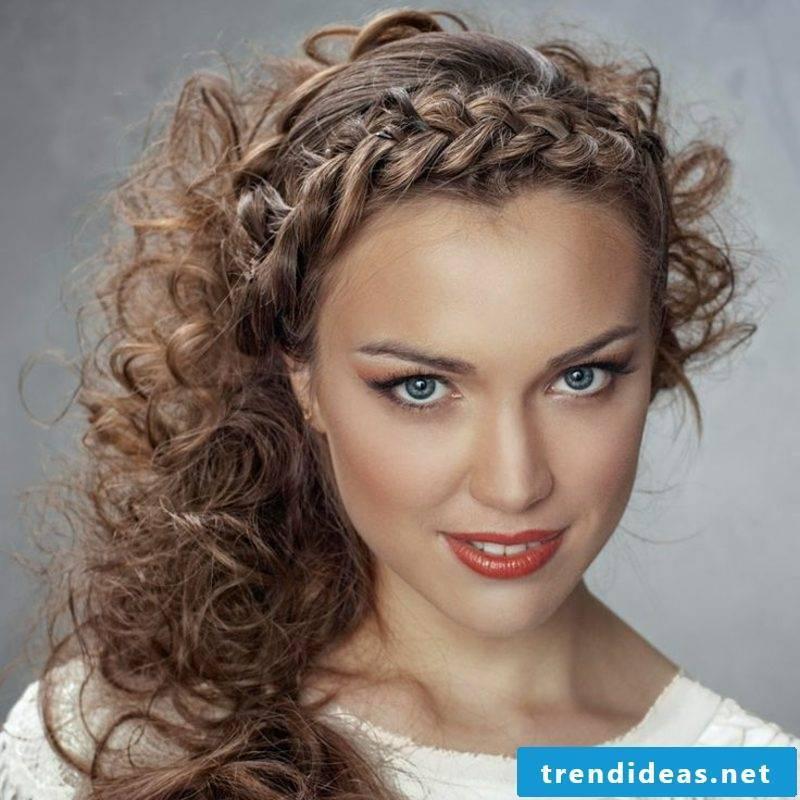 Hair braids French braid