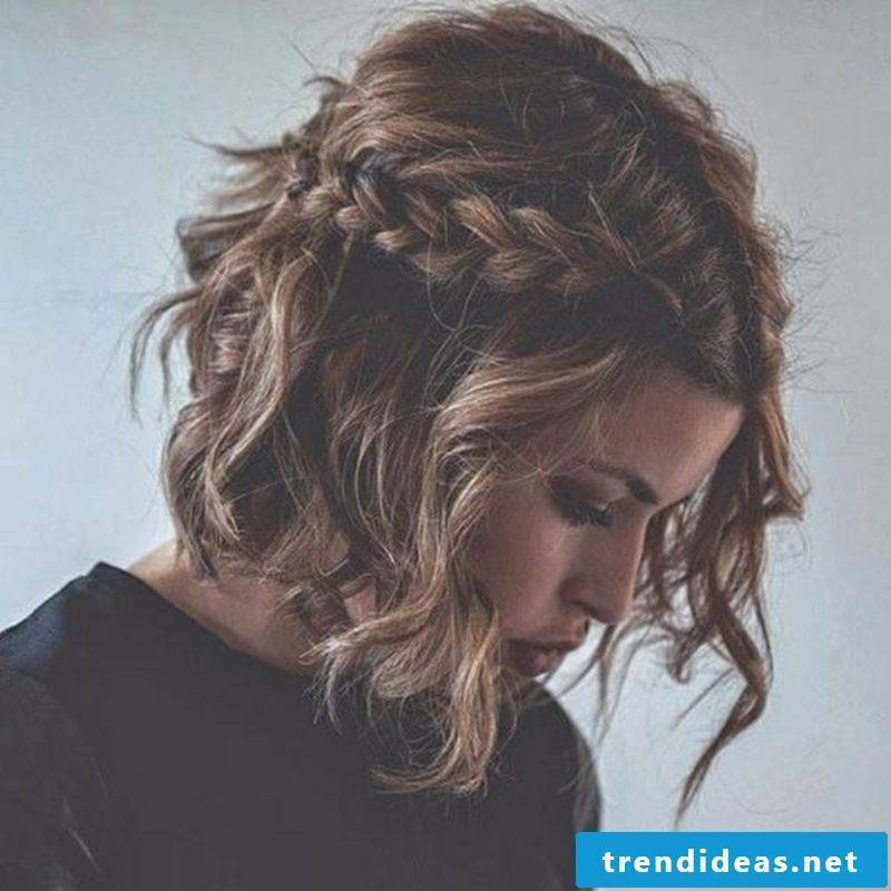 braids braided sideways short hair