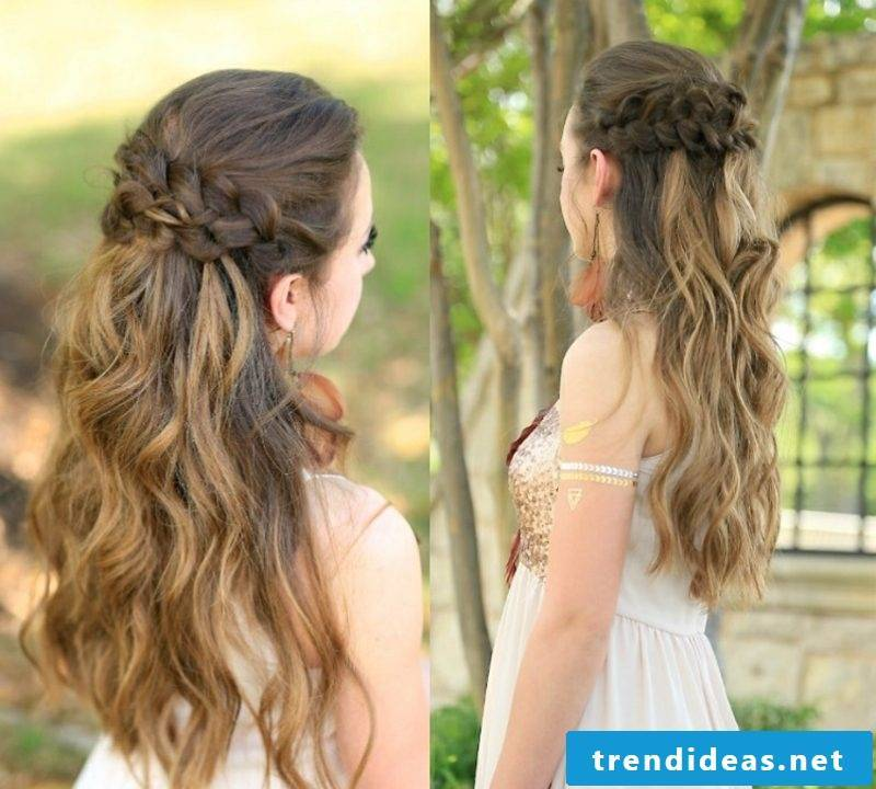 Braided hairstyling instructions modern ideas