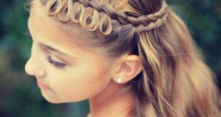 Wicker hairstyles semi-open - fascinating ideas for imitation
