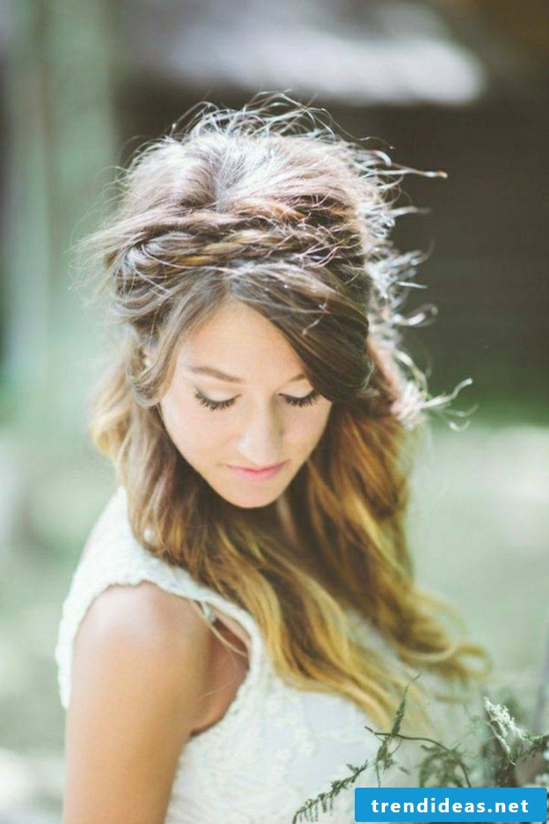 Hairband hairstyle braided braids