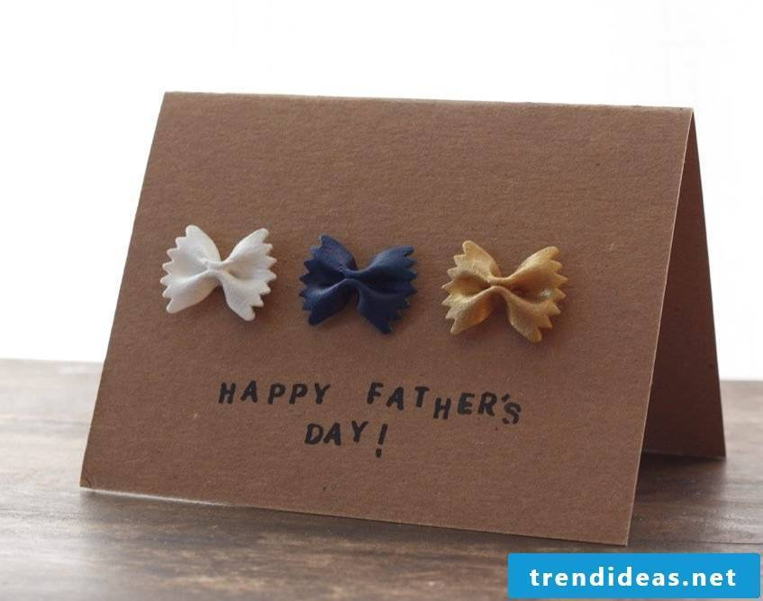 The self-made Father's Day card is the best way to wish your father a Happy Father's Day