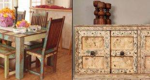 With antique furniture, every apartment becomes a pretty and cozy piece of art