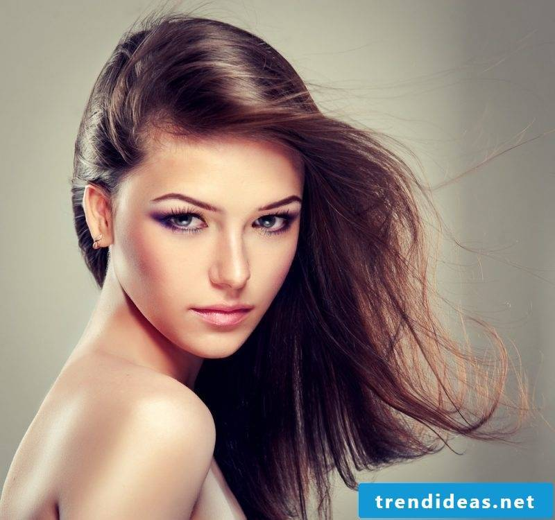 Women's hairstyles playful