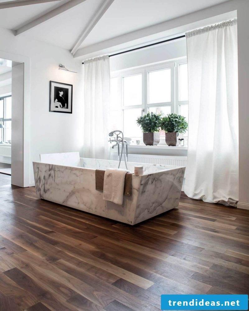 wooden floor practical