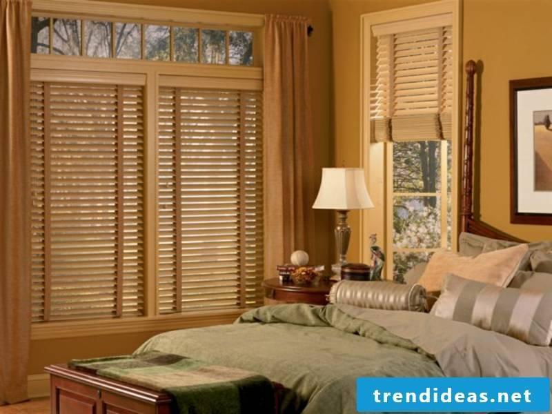 Bedroom and wooden blinds for Elegnaz