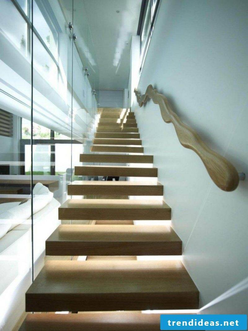 wooden railing creative