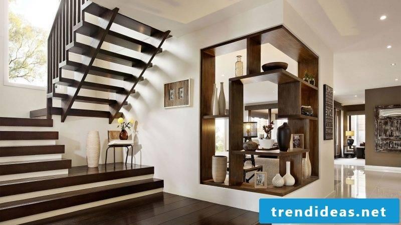 wooden railing stylish