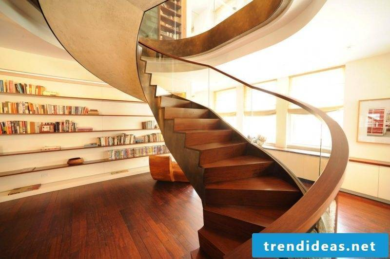 wooden railing extravagant