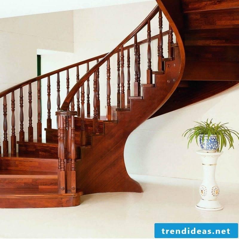 wooden railing classic
