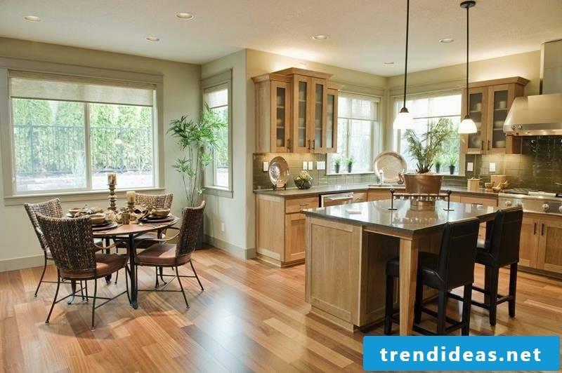 bar counter kitchen living room ideas