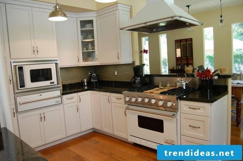 open kitchen white