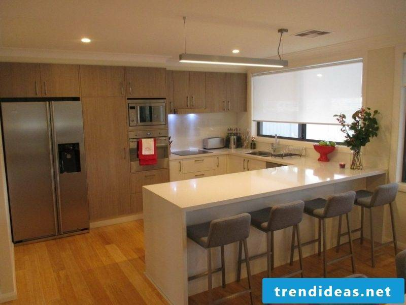 Kitchen with counter kitchen design