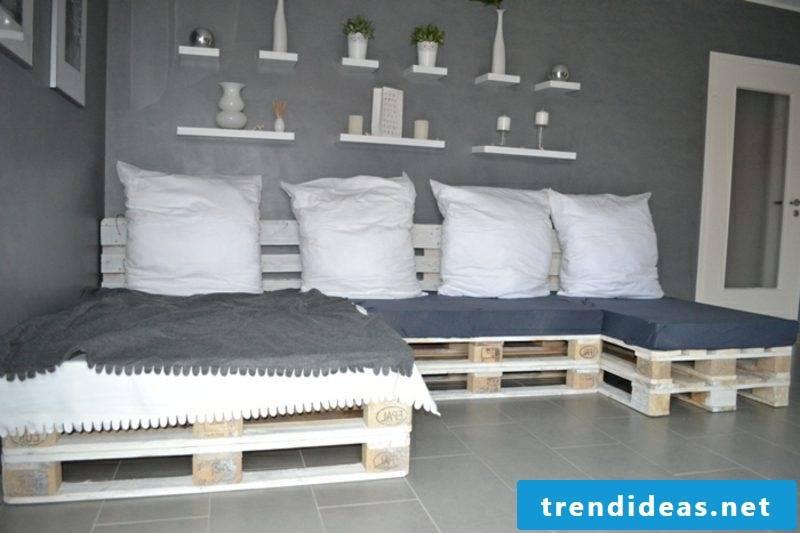 Pallet sofa build instructions
