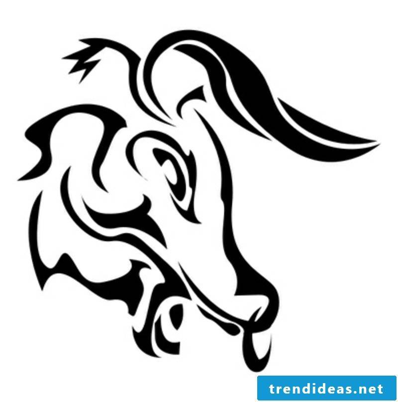 zodiac tattoo Taurus Tattoo Idea